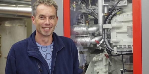 Für Peter Huber hat die Zuverlässigkeit der Anlagen bei der Abwasserreinigung höchste Priorität.