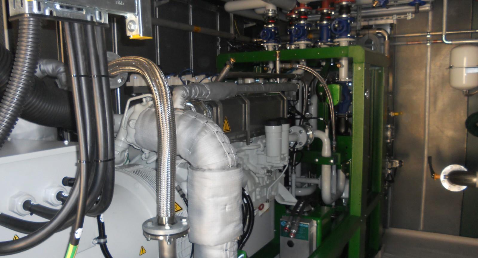 Die zweite Anlage ist installiert und bietet die gewünschte Kapazitätserweiterung.