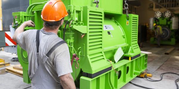 In einem zweiten Schritt wurde der Generator mit 4,4 MW elektrischer Leistung hinzugefügt. Bild: Roche