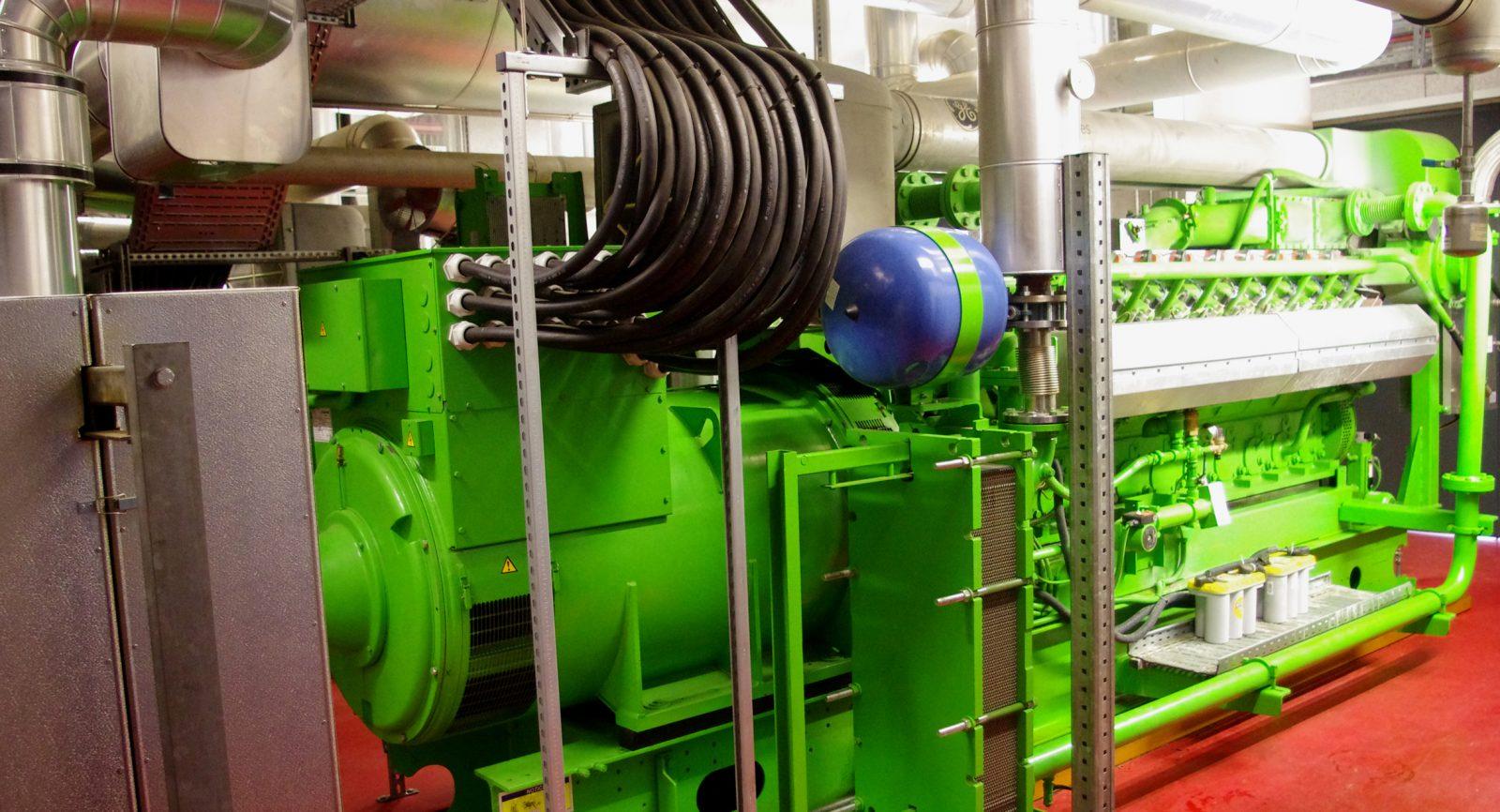 Der mit den Blockheizkraftwerken und deren Generatoren erzeugte Biostrom wird vom Elektrizitätswerk der Stadt Zürich abgenommen.