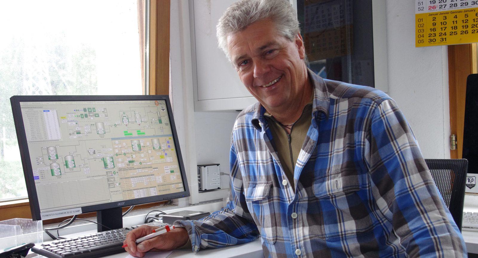 Paul Julen: «Wir schätzen die hohe Funktionszuverlässigkeit der Anlage und speziell des Blockheizkraftwerks von Avesco.»