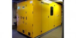 La centrale de cogénération de Matterhorn Biogas Power AG fonctionne 24 heures sur 24, le plus souvent à charge partielle, et garantit une production continue de bioélectricité.