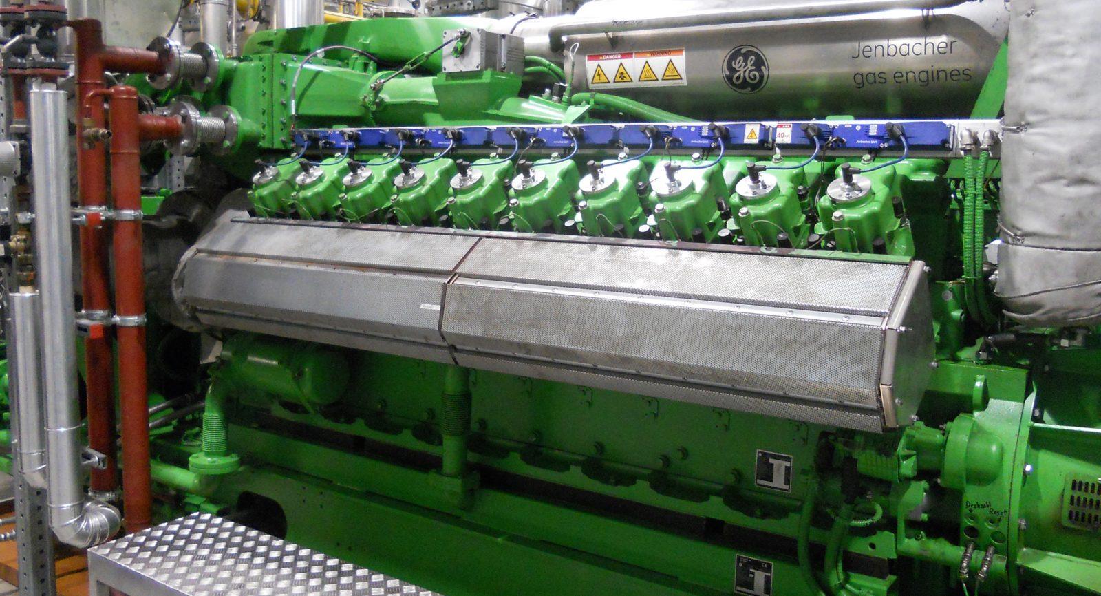 Je 20 Zylinder erzeugen eine Leistung von 1558 kW elektrisch und 2000 kW thermisch sowie einen Gesamtwirkungsgrad von rund 91 Prozent.
