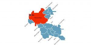 Das Einzugsgebiet der ARA in der Hard umfasst neben der Stadt Winterthur noch 12 weitere Gemeinden der Region. (Bild: Stadtwerk Winterthur)