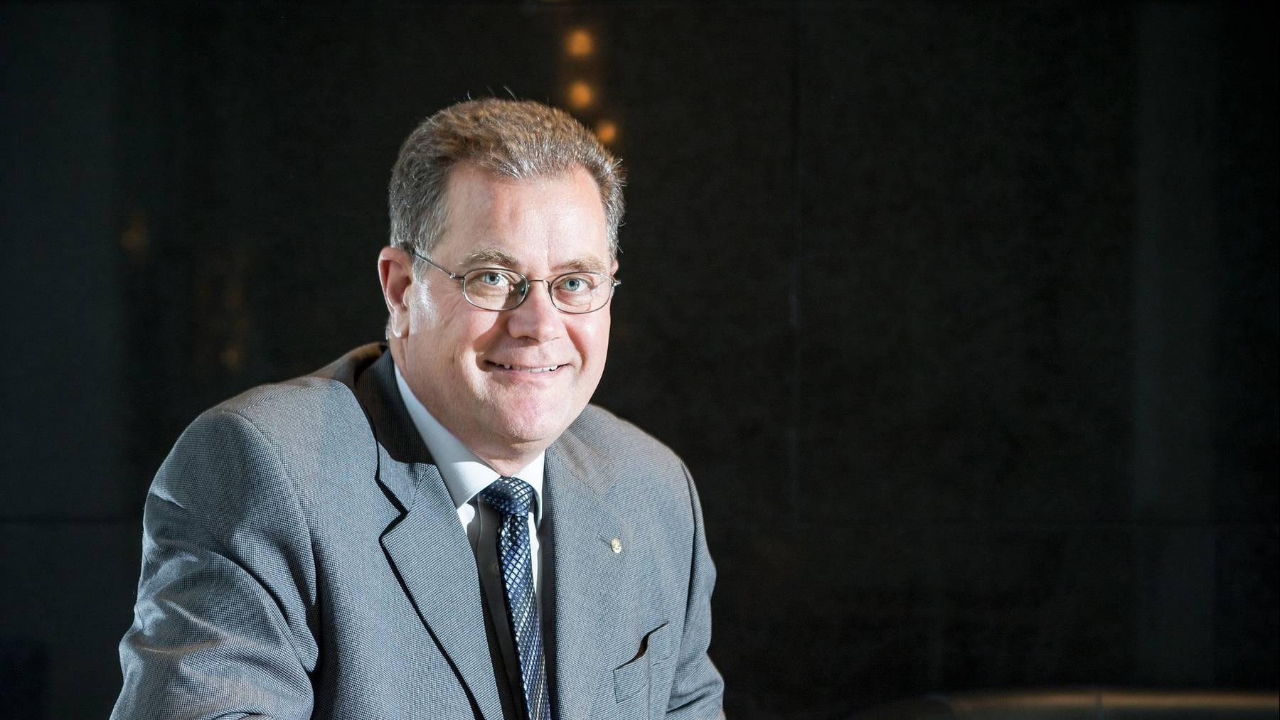 Hans-Kaspar Scherrer, CEO d'Eniwa
