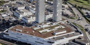 Das grösste der beiden installierten Blockheizkraftwerke (BHKW) befindet sich im Zentrum City West, das bereits gezielt ausgebaut wird.