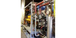 Die aufeinander abgestimmte Kombination von Gasmotor, Generator und Abgasreinigung ermöglicht eine effiziente Biogasnutzung.