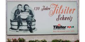 Die Familie Wartmann auf dem Holzhof in Amlikon-Bissegg gehört zu den ersten, die den Tilsiter in die Schweiz brachten.