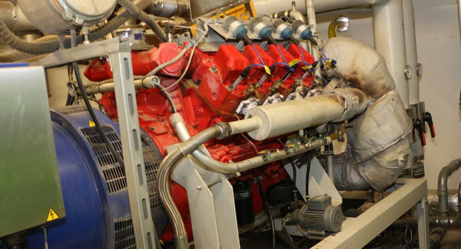 Die erste BHKW-Einheit der Müller Energie GmbH wurde im Dezember 2014 installiert.